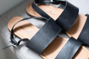 Montego Bay Club Strap Sandals | Kaitlynn Stone Plato's Closet Summer Haul