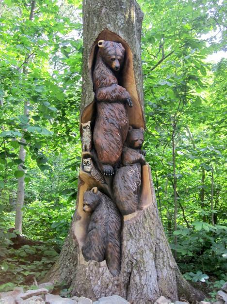Bear's Den Totem Pole  Hike Kaitlynn Stone Blog