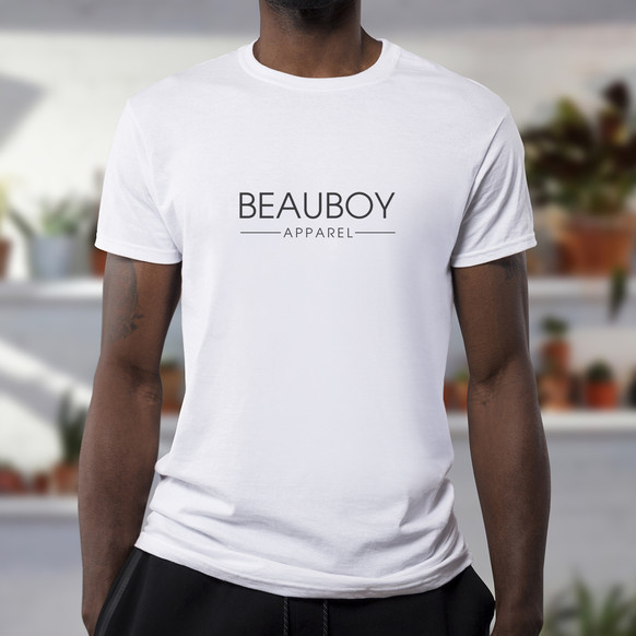 Beauboy Apparel Logo Model Mockup by Kaitlynn Stone