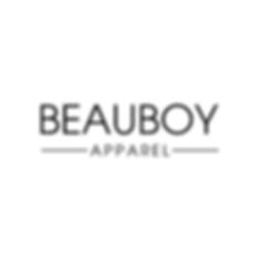 Beauboy Apparel Logo Design Modern Minimal Organic Clothing Brand Branding by Kaitlynn Stone