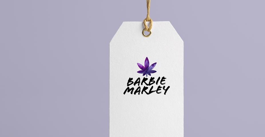Barbie Marley Logo Design by Kaitlynn Stone