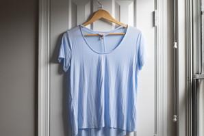 Mossimo Neck Cross Tee | Kaitlynn Stone Plato's Closet Summer Haul