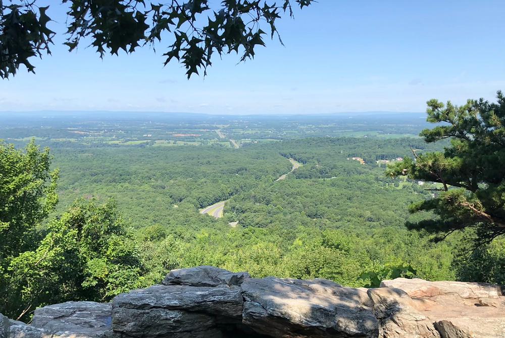 Bear's Den Lookout Hike Virginia Forest Bathing Kaitlynn Stone Blog