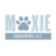 Moxie Grooming LLC Logo Design Branding Dog Grooming Pet Spa Concept