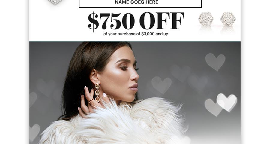 Icebox Jewelery Valentine's Day Digital Ad by Kaitlynn Stone