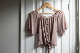 Body Central Lightweight Blouse | Kaitlynn Stone Plato's Closet Summer Haul