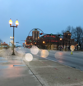 The Entrance To Navy Pier