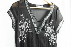 Maurice's Embellished Bohemian Blouse | Kaitlynn Stone Plato's Closet Summer Haul