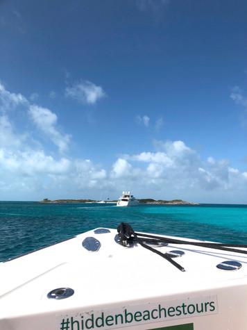 Hidden Beaches Tours Boat Exuma Islands Bahamas Kaitlynn Stone