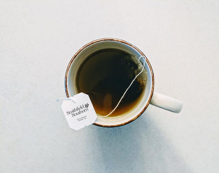 Smithfield Southern Tea Cup Mockup by Kaitlynn Stone