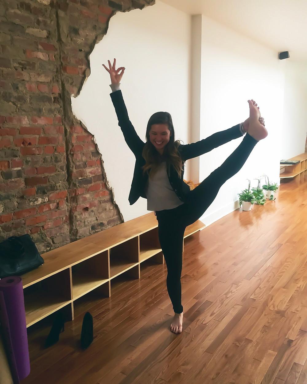 Kaitlynn Stone Tree Pose Saadia's Juicebox