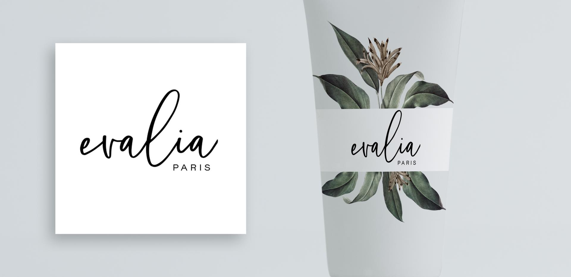 Evalia Paris Logo & Product Design by Kaitlynn Stone