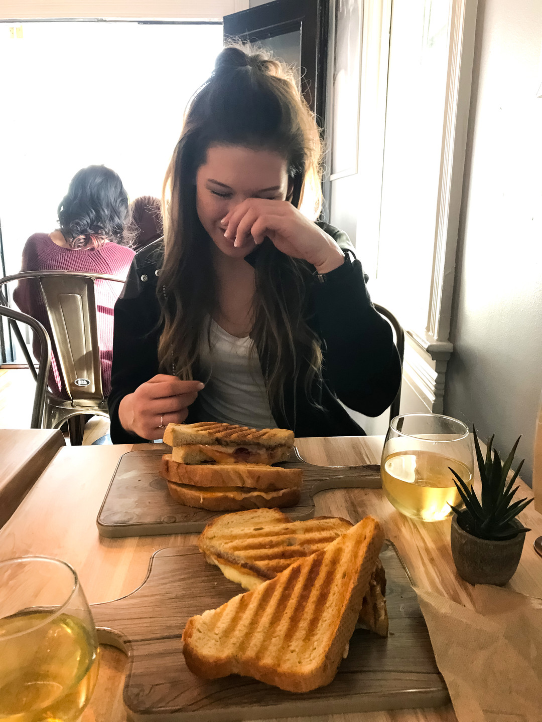 Kaitlynn Stone at Bites Wine & Grilled Cheese Bar