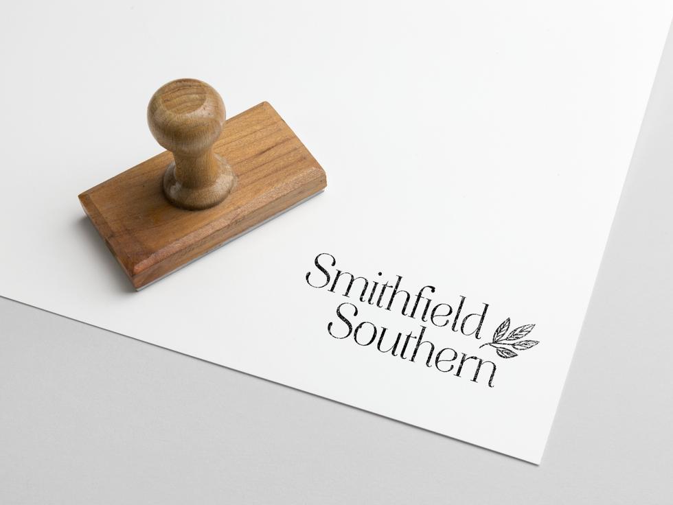 Smithfield Southern Stamp Mockup by Kaitlynn Stone