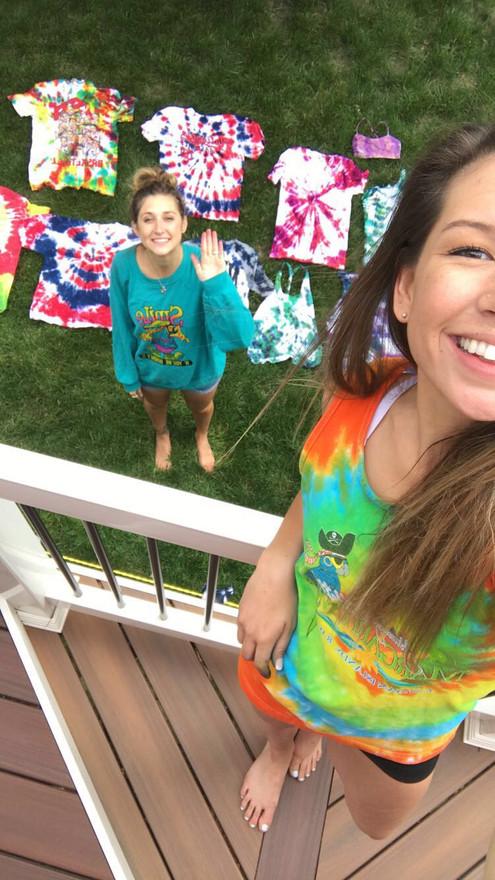 Kaitlynn Stone Tie Dye Day