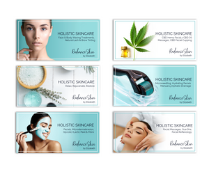 Holistic Skincare Radiance Skin by Elizabeth Online Advertisements Branding Graphic Design Kaitlynn Stone