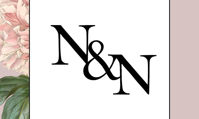N&N Wedding Emblem Design by Kaitlynn Stone