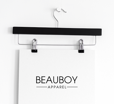 Beauboy Apparel Logo Design by Kaitlynn Stone