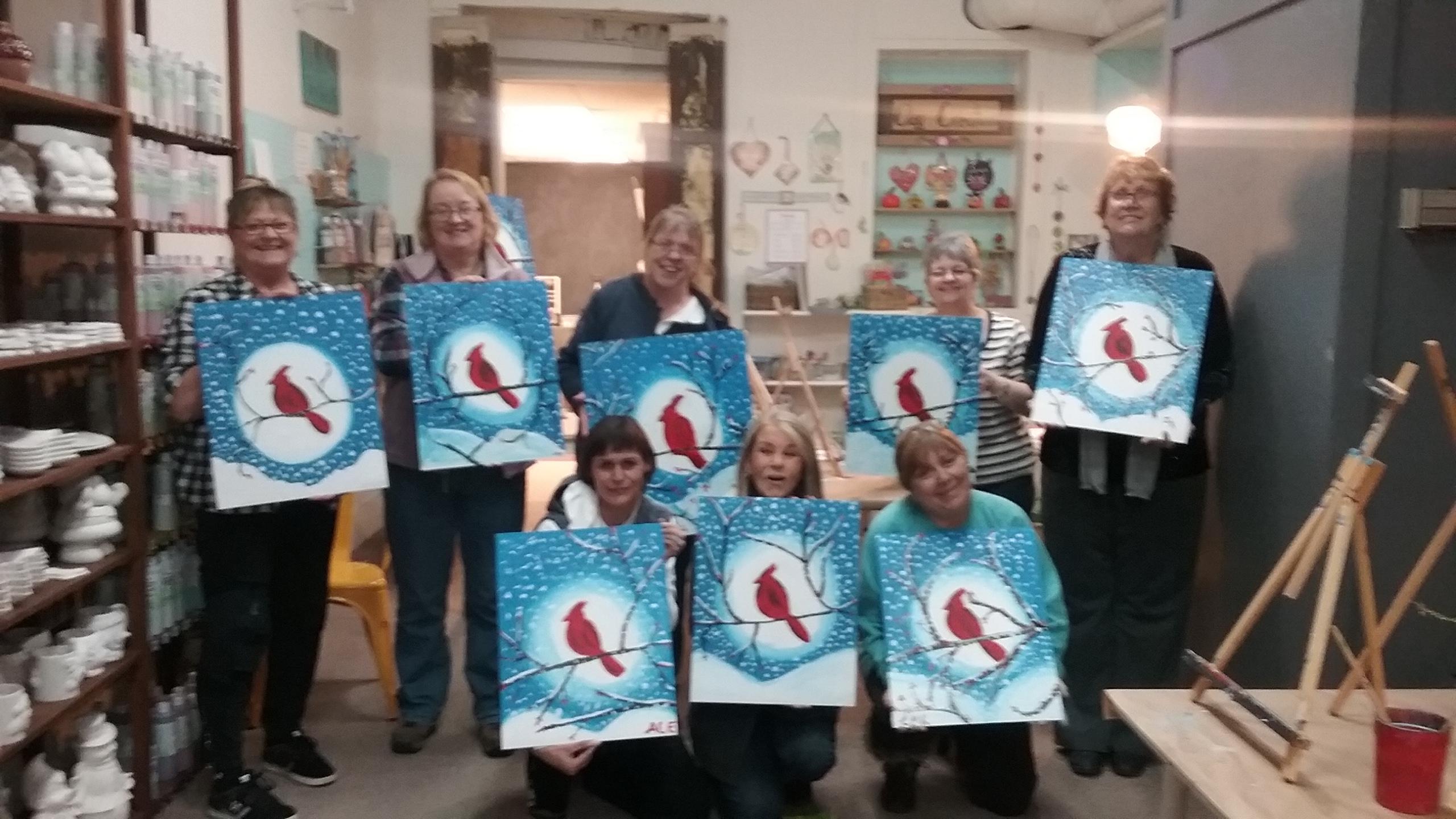 Snowbird Paint & Sip