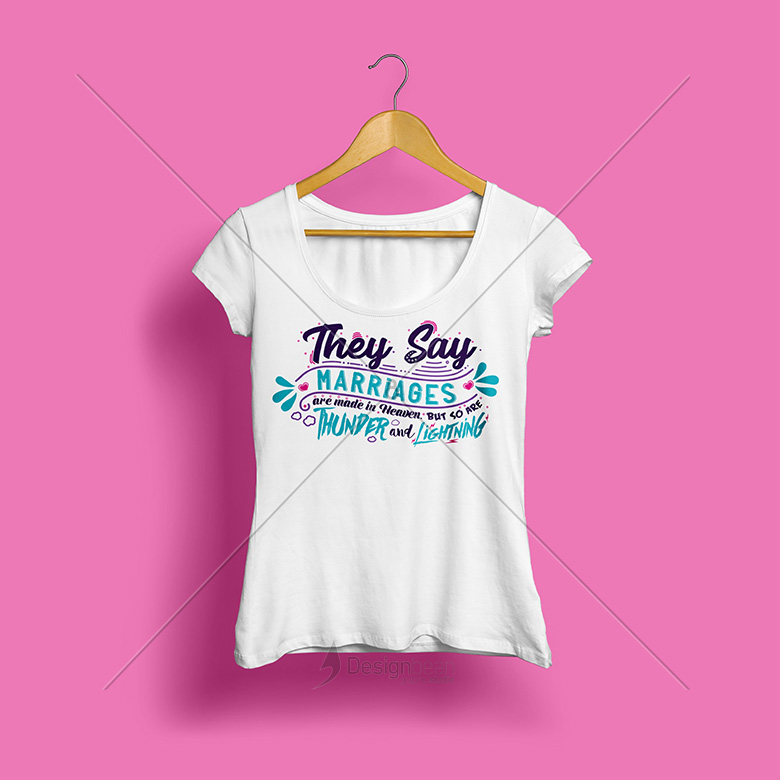 Feminine shirt design