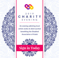 Charity web banner