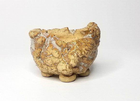 Kusamono container #507, 7.5 x 5cm, (by Winter Ceramics)