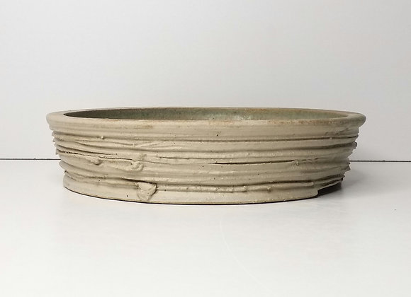 Round Container #432, 24 X 5.5cm, (by Sue McFarland)