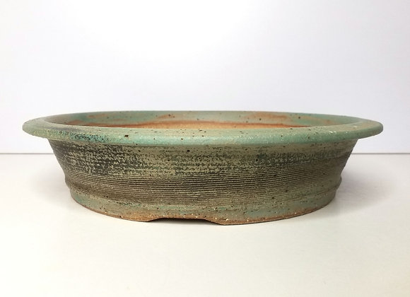 Round Container #405, 30 x 6.5cm, (by Tracey Francis)
