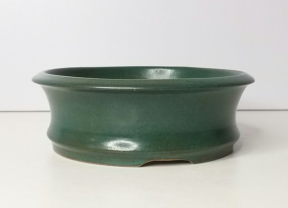 Round container #376, 16 x 5.5cm, (by Tracey Francis)