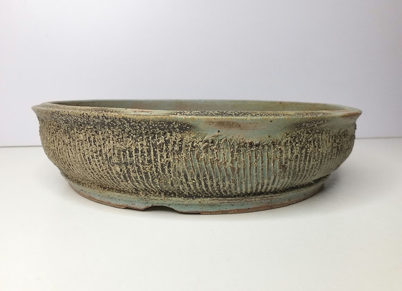 Round Container #406, 29.5 x 7cm, (by Tracey Francis)
