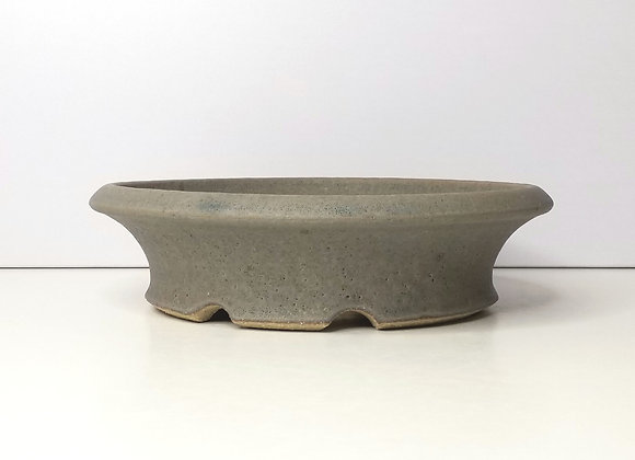 Round container #338, 22 x 6cm (by Sue McFarland)