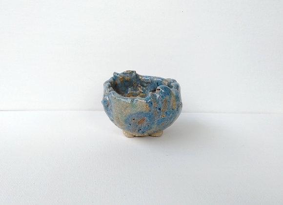 Kusamono/Mame Container #229,  8 x 6cm (by Winter Ceramics)