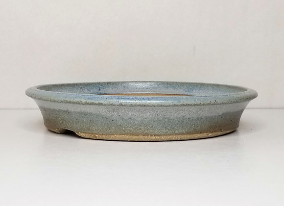 Round Container #423, 24 x 4.3cm, (by Sue McFarland)