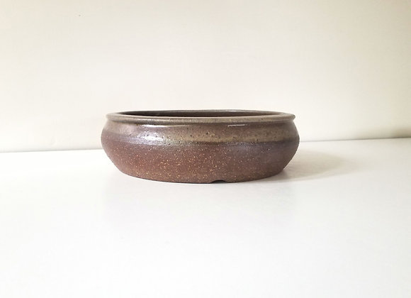 Round Container #80, 23 x 6.5cm (by Tracey Francis)