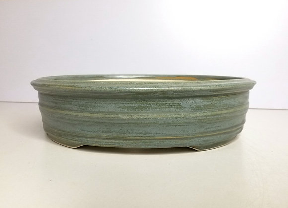 Oval Container #408, 29 x 26 x 7.5cm, (by Tracey Francis)