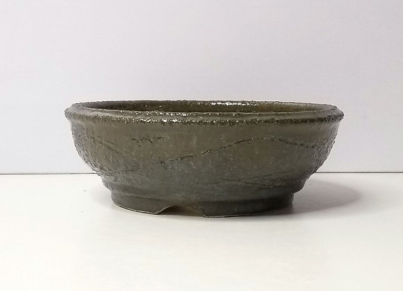 Round Container #277, 17 x 6cm (by Tracey Francis)