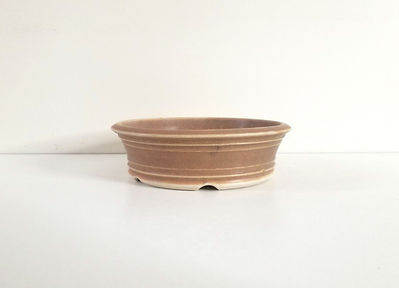 Round Container #234,   17 x 5cm (by Sue McFarland)