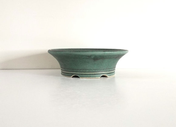 Round Container #232,    20 x 6cm (by Sue McFarland)