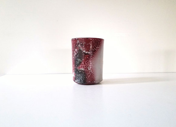 Ikebana Vase #193,   10 x 8 x 12.5cm (by Sue McFarland)