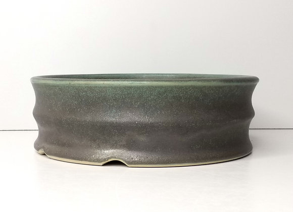 Round Container #427, 21.5 x 7.3cm, (by Sue McFarland)
