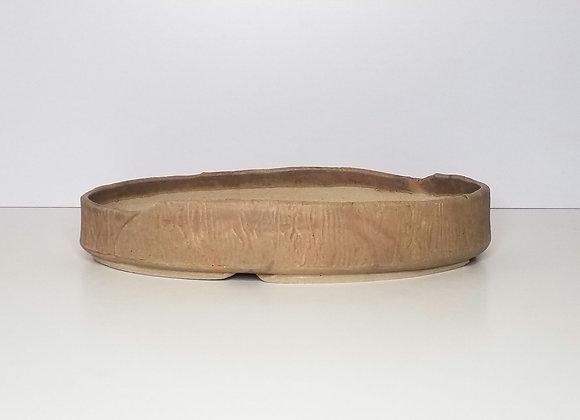 Handbuilt Oval #45, 40 x 20.5 x 7.5cm (By Sue McFarland)