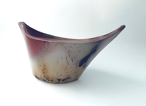 Ikebana Vase #177,  24 x 15 x 15cm at highest point (by Sue McFarland)