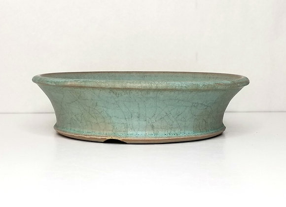 Round Container #425, 22.8 x 6cm, (by Sue McFarland)