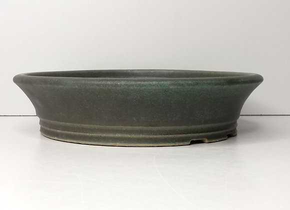 Round Container #430, 24.5 X 5.8cm, (by Sue McFarland)