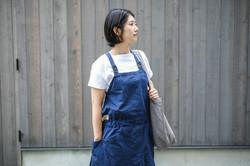 BY-apron(綿麻)
