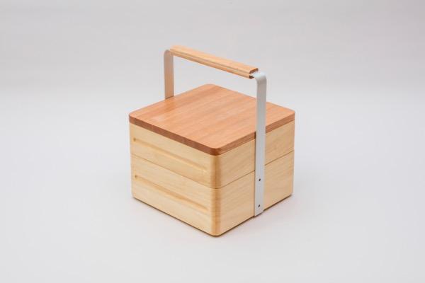 オカモチセットB+カッティングボード蓋B(正方形)