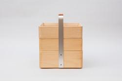 オカモチセットB+浅箱B(正方形)