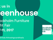Greenhouse at Stockholm Furniture and Light Fair 2017