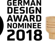 Nomination for the German Design Award 2018