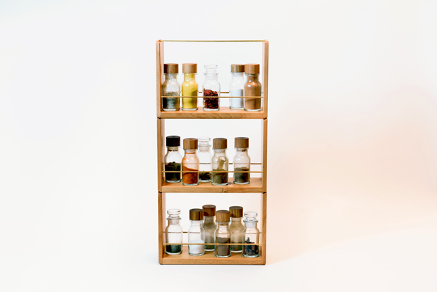 SPICE Rack & Bottle